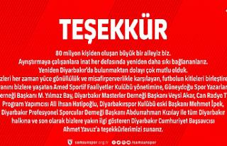 Samsunspor'dan Örnek Açıklama