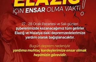 Hacıbaba Pastaneleri'nin İki Günlük Geliri...