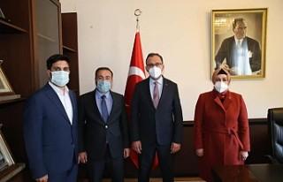 Başkan Aydın'dan Ankara'da Spor Yatırımları...