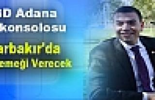 ABD Adana Başkonsolosu Diyarbakır'da İftar Yemeği...