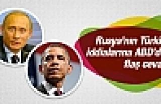 ABD'den Rusya'nın Türkiye-IŞİD iddialarına cevap!