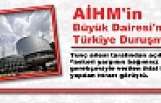 AİHM'in Büyük Dairesi'nde Türkiye Duruşması