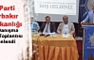AK Parti Diyarbakır İl Başkanlığı 12. İl Danışma...