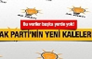 AK Parti'nin yeni kaleleri yüzde 49'un sırrı buralarda!