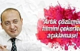 Akdoğan'dan 'çözümün filmini çekerler' açıklaması!