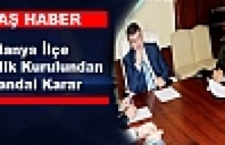 Alanya İlçe Güvenlik Kurulundan Skandal Karar
