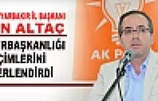 Altaç'dan Cumhurbaşkanlığı Açıklaması