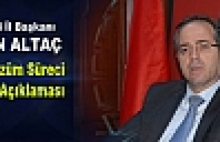 Altaç'tan Yeni Çözüm Süreci Paketi Açıklaması