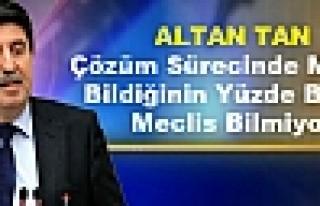 Altan Tan: Çözüm Sürecinde MİT'in Bildiğinin...