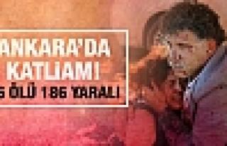 Ankara'da mitingde patlama! Onlarca ölü ve yaralı...