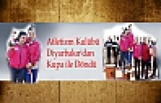 Atletizm Kulübü Diyarbakır'dan Kupa ile Döndü