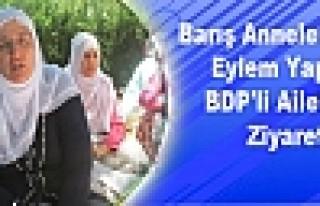 Barış Annelerinden Eylem Yapan BDP'li Ailelere Ziyaret