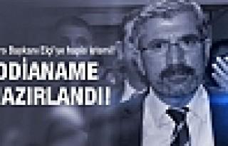 Baro Başkanı Tahir Elçi'ye kötü haber