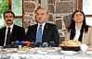 Başbakan Başdanışmanı Akdoğan Diyarbakır'da...