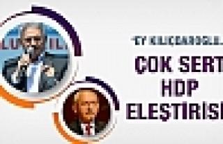 Başbakan'dan Kılıçdaroğlu'na sert HDP eleştrisi!