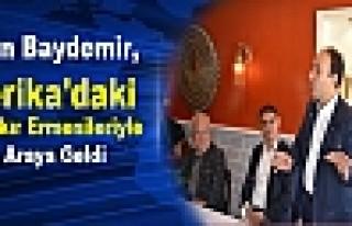 Baydemir, Amerika'daki Diyarbakır Ermenileriyle Bir...