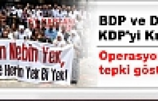 BDP ve DTK, KDP'yi Kınadı