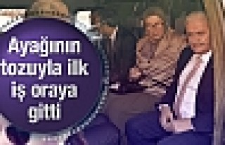 Binali Yıldırım ayağının tozuyla Diyarbakır'a...