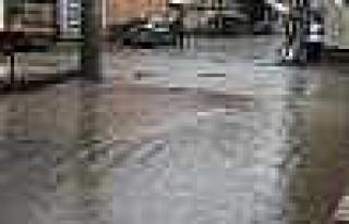 Bismil'de Şiddetli Yağış