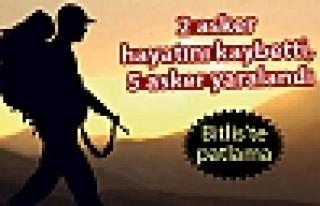 Bitlis'te patlama: 2 asker hayatını kaybetti, 5...