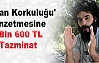 'Bostan Korkuluğu' Benzetmesine 3 Bin 600 TL Tazminat