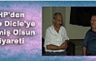 CHP'den Hatip Dicle'ye Geçmiş Olsun Ziyareti