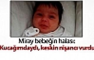 Cizre'de öldürülen Miray bebeğin halası: Kucağımdaydı,...
