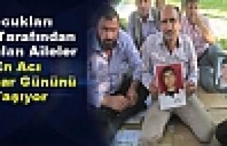 Çocukları PKK Tarafından Kaçırılan Aileler En...