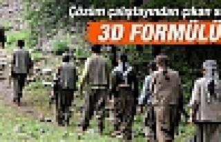 Çözüm sürecinde 3D formülü: Eve, hayata, siyasete...