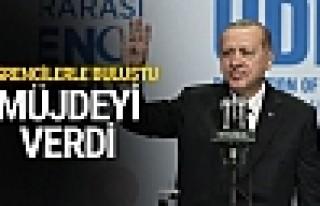 Cumhurbaşkanı Erdoğan o öğrencilere müjdeyi...