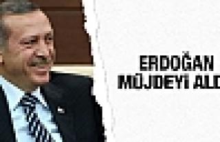 Cumhurbaşkanı Erdoğan'a müjdeli haber!