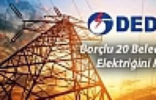 Dedaş, Borçlu 20 Belediyenin Elektriğini Kesti