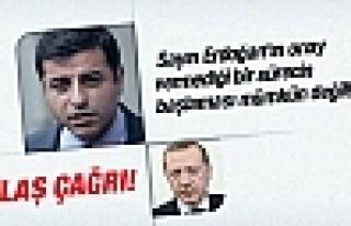 Demirtaş'tan Erdoğan'a çözüm süreci çağrısı!