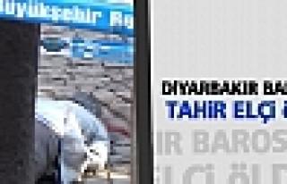 Diyarbakır Barosu Başkanı Tahir Elçi öldürüldü