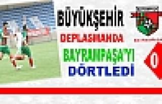 DİYARBAKIR BÜYÜKŞEHİR BELEDİYESPOR BAYRAMPAŞA'YI...