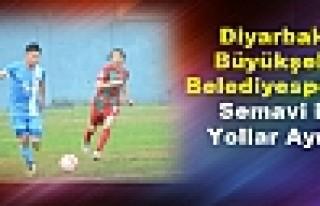 Diyarbakır Büyükşehir Belediyespor'da Semavi ile...