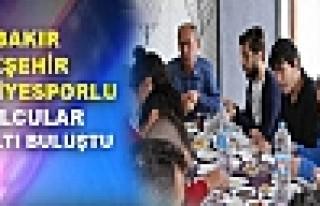 DİYARBAKIR BÜYÜKŞEHİR BELEDİYESPORLU FUTBOLCULAR...