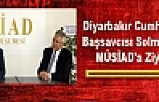 Diyarbakır Cumhuriyet Başsavcısı Solmaz'dan MÜSİAD'a...