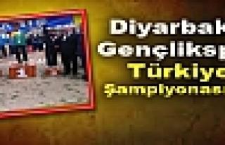 Diyarbakır Gençlikspor Türkiye Şampiyonasında