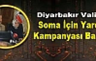 Diyarbakır Valiliği, Soma İçin Yardım Kampanyası...