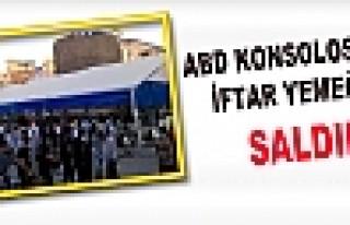 Diyarbakır'da ABD Konsolosluğu'nun İftar Çadırına...