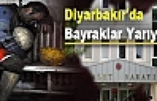 Diyarbakır'da Bayraklar Yarıya İndi