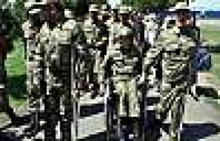 Diyarbakır'da Engelliler İçin Temsili Askerlik...