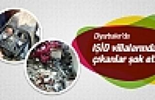 Diyarbakır'da IŞİD villalarından çıkanlar şok...