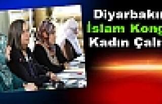 Diyarbakır'da İslam Kongresi Kadın Çalıştayı