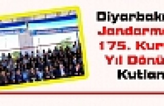 Diyarbakır'da Jandarmanın 175. Kuruluş Yıl Dönümü...