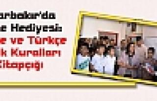 Diyarbakır'da Karne Hediyesi: Kürtçe ve Türkçe...