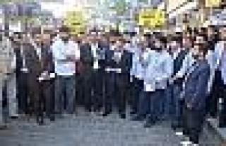 Diyarbakır'da Mısır Protestosu