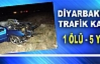 Diyarbakır'da Otomobille Kamyon Çarpıştı: 1 Ölü,...