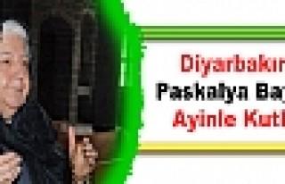 Diyarbakır'da Paskalya Bayramı Ayinle Kutlandı